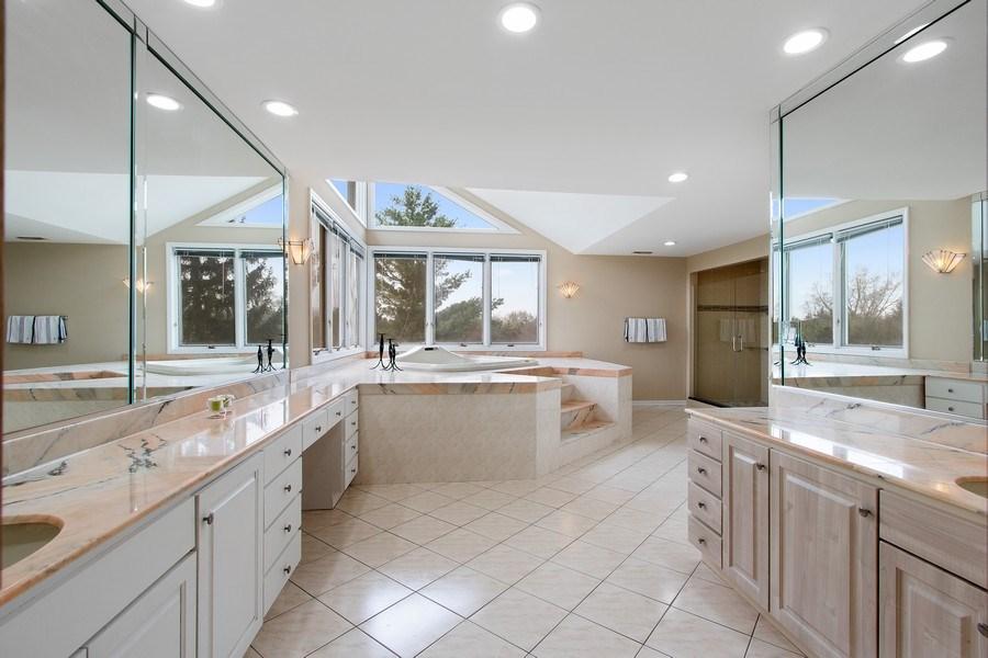 Real Estate Photography - 309 Dundee Road, Barrington, IL, 60010 - Master Bathroom