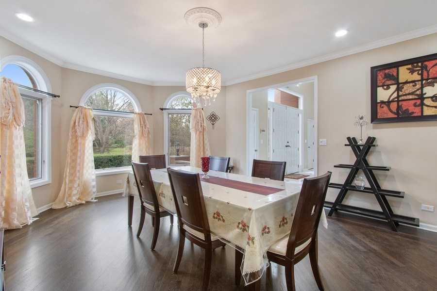 Real Estate Photography - 309 Dundee Road, Barrington, IL, 60010 - Dining Room