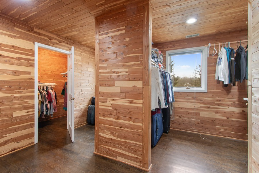 Real Estate Photography - 309 Dundee Road, Barrington, IL, 60010 - Master Bedroom Closet