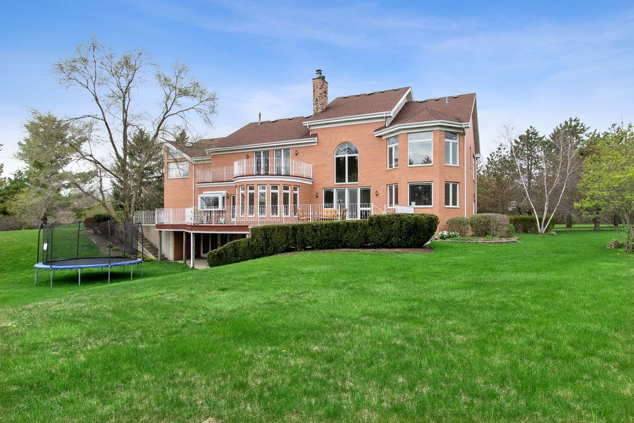 Real Estate Photography - 309 Dundee Road, Barrington, IL, 60010 - Rear View