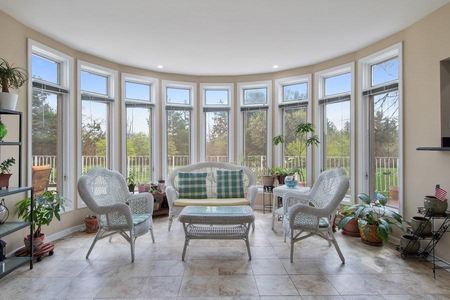 Real Estate Photography - 309 Dundee Road, Barrington, IL, 60010 - Sun Room