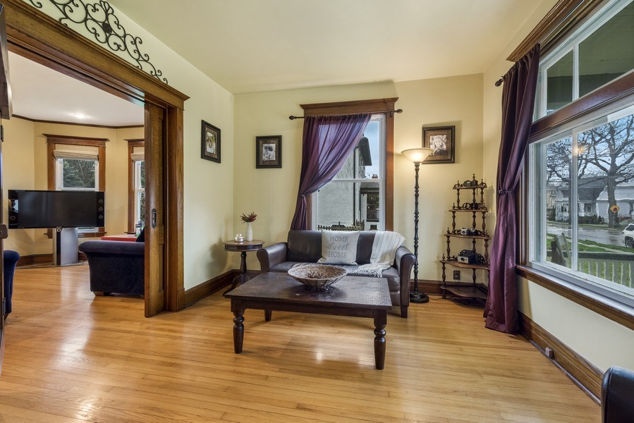 Real Estate Photography - 305 N Plum Grove Road, Palatine, IL, 60067 - Living Room