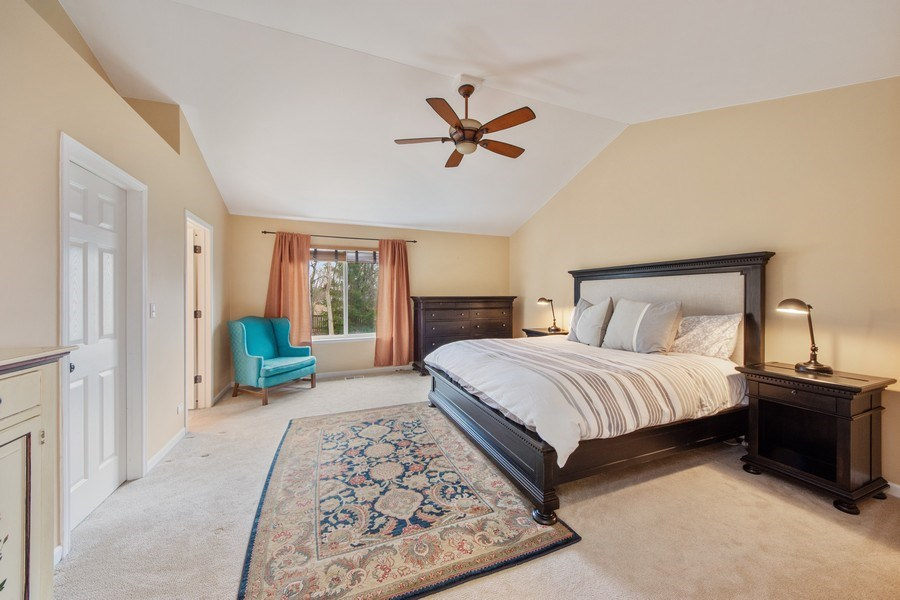 Real Estate Photography - 1320 Mayfair Ln, Grayslake, IL, 60030 - Master Bedroom