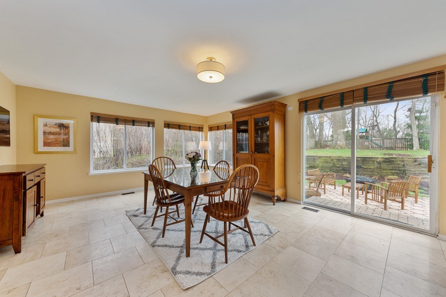 Real Estate Photography - 1320 Mayfair Ln, Grayslake, IL, 60030 - Eat-In Kitchen Area/ 2nd Family Room