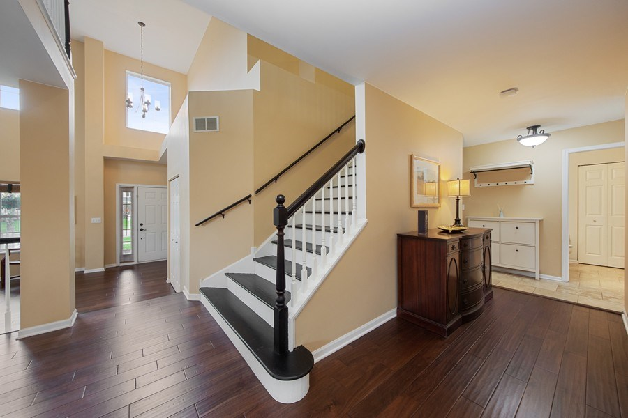 Real Estate Photography - 1320 Mayfair Ln, Grayslake, IL, 60030 - Staircase