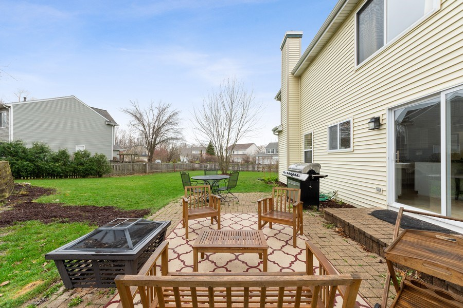 Real Estate Photography - 1320 Mayfair Ln, Grayslake, IL, 60030 - Patio