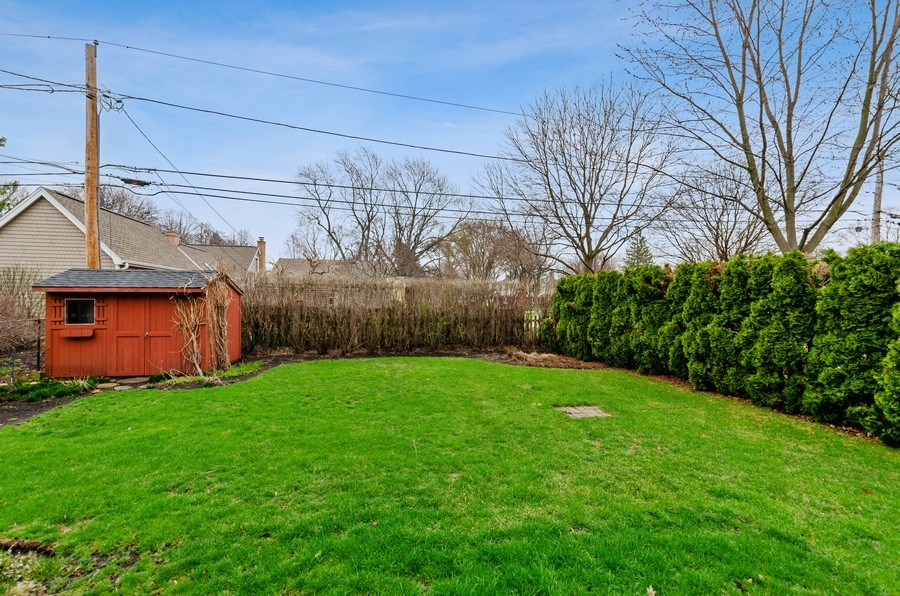 Real Estate Photography - 745 S. Mitchell Ave., Arlington Heights, IL, 60005 - Back Yard