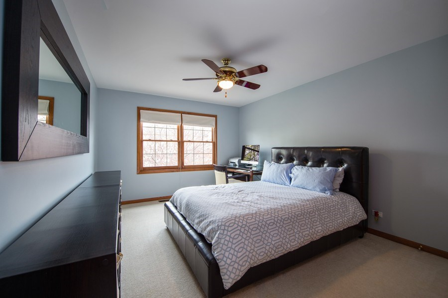 Real Estate Photography - 912 S. Chatham Ave, Elmhurst, IL, 60126 - Bedroom