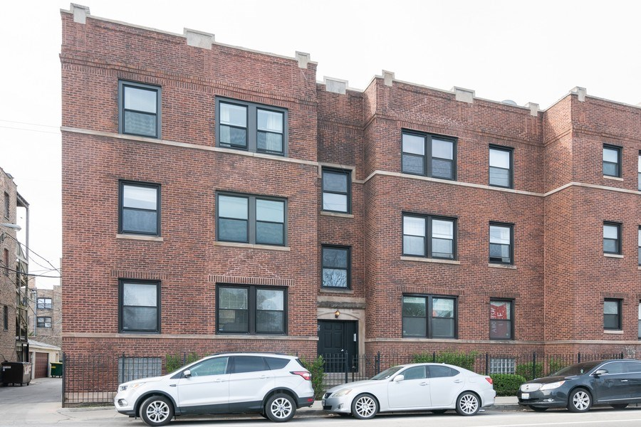Real Estate Photography - 1323 W. Lawrence, Unit 2, Chicago, IL, 60640 - Front View