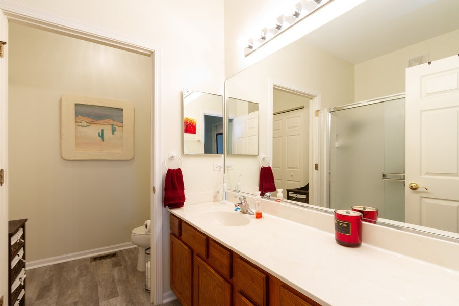 Real Estate Photography - 4268 Savoy Ln, McHenry, IL, 60050 - Master Bathroom