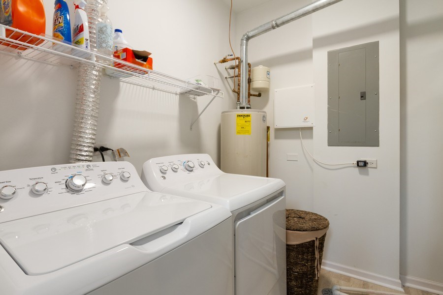 Real Estate Photography - 4268 Savoy Ln, McHenry, IL, 60050 - Laundry Room