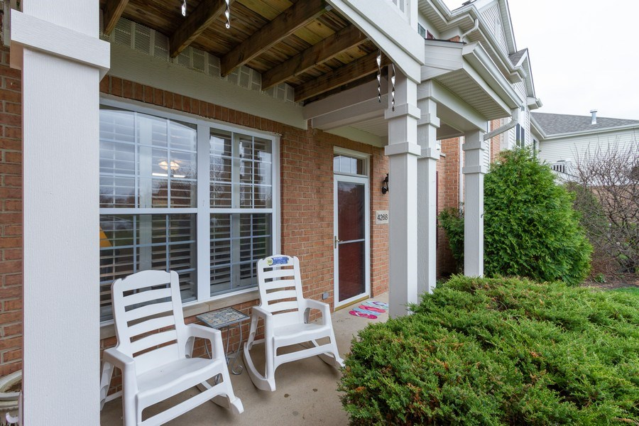 Real Estate Photography - 4268 Savoy Ln, McHenry, IL, 60050 - Porch