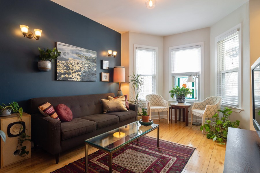 Real Estate Photography - 4145 N Albany Ave, Chicago, IL, 60618 - Living Room