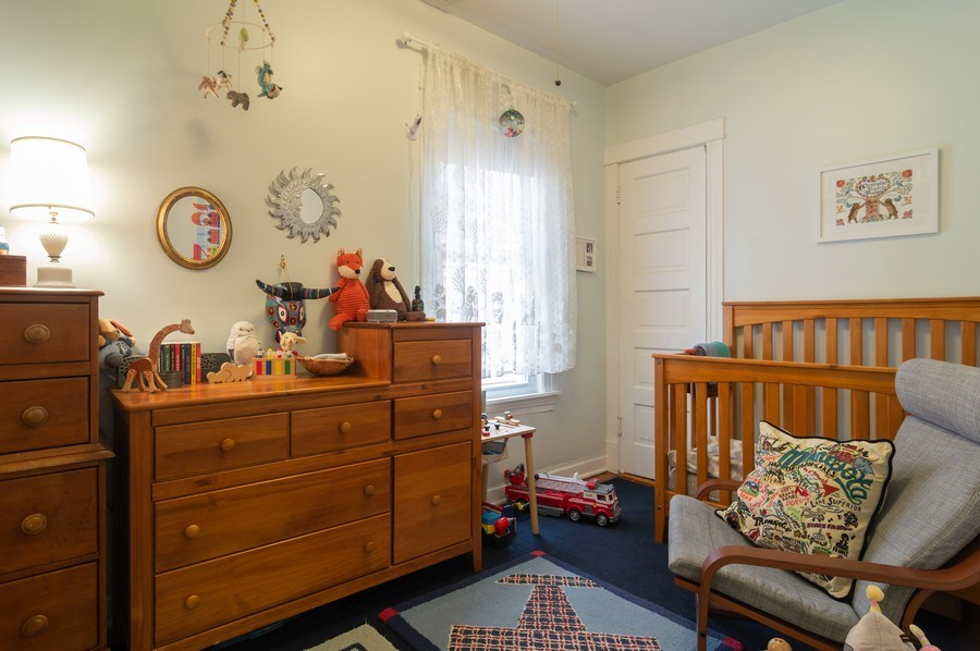 Real Estate Photography - 4145 N Albany Ave, Chicago, IL, 60618 - 2nd Bedroom