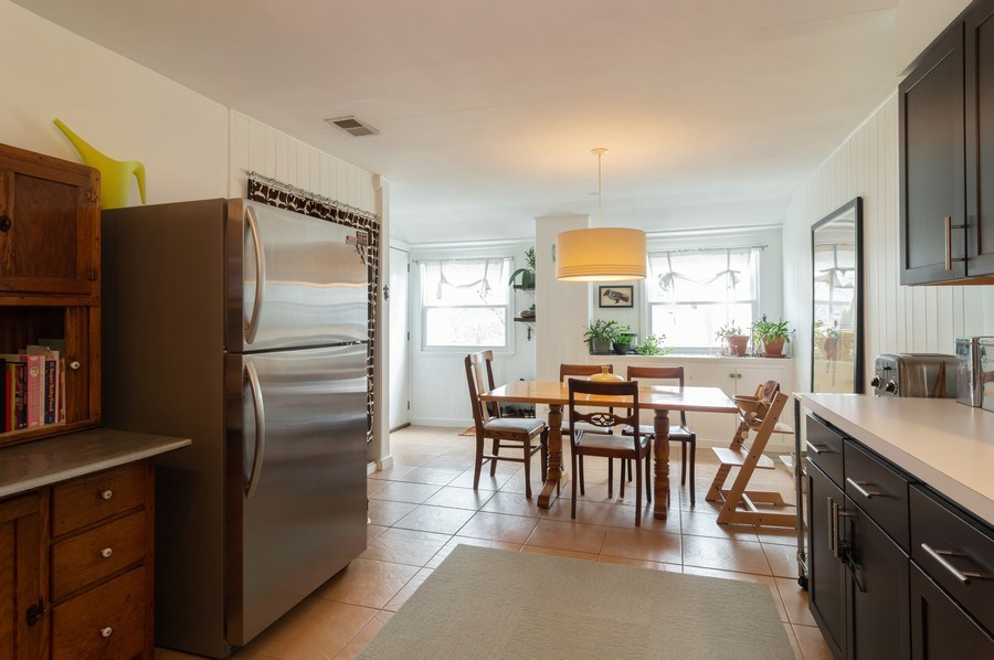 Real Estate Photography - 4145 N Albany Ave, Chicago, IL, 60618 - Kitchen / Breakfast Room