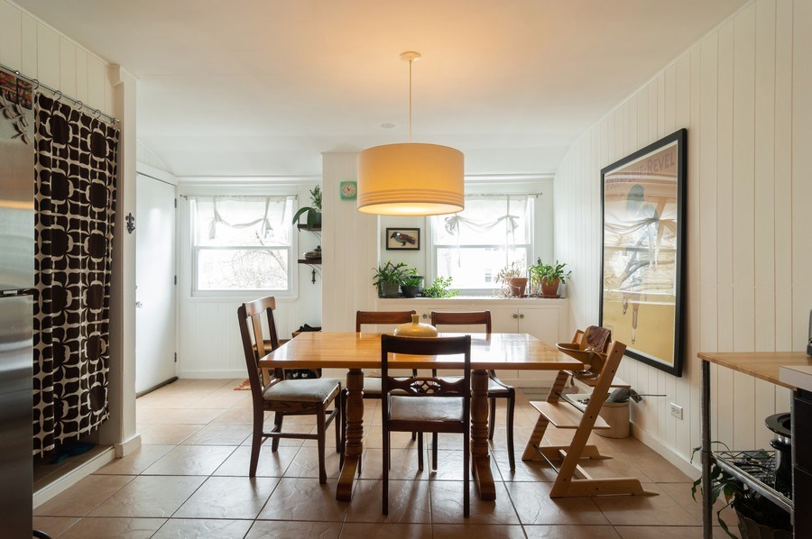 Real Estate Photography - 4145 N Albany Ave, Chicago, IL, 60618 - Dining Room