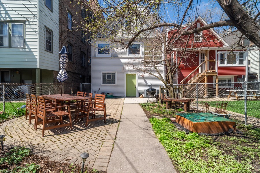 Real Estate Photography - 4145 N Albany Ave, Chicago, IL, 60618 - Back Yard
