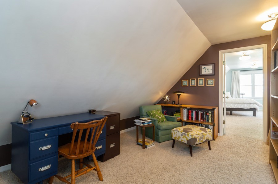 Real Estate Photography - 4145 N Albany Ave, Chicago, IL, 60618 - Den