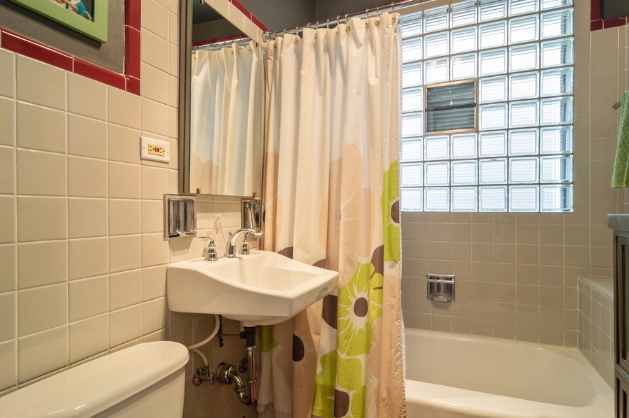 Real Estate Photography - 4145 N Albany Ave, Chicago, IL, 60618 - Bathroom
