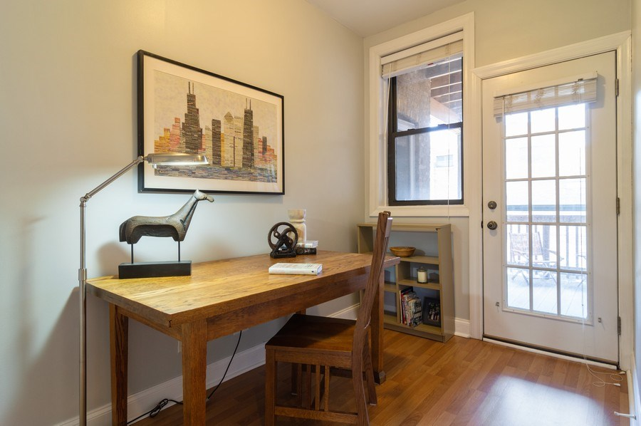 Real Estate Photography - 1344 West Irving Park Rd, 2N, Chicago, IL, 60613 - 2nd Bedroom