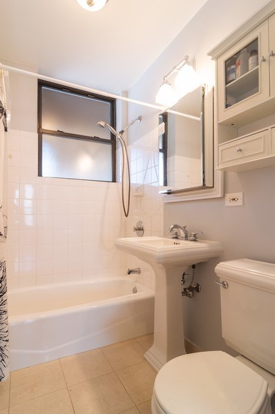 Real Estate Photography - 1344 West Irving Park Rd, 2N, Chicago, IL, 60613 - Bathroom