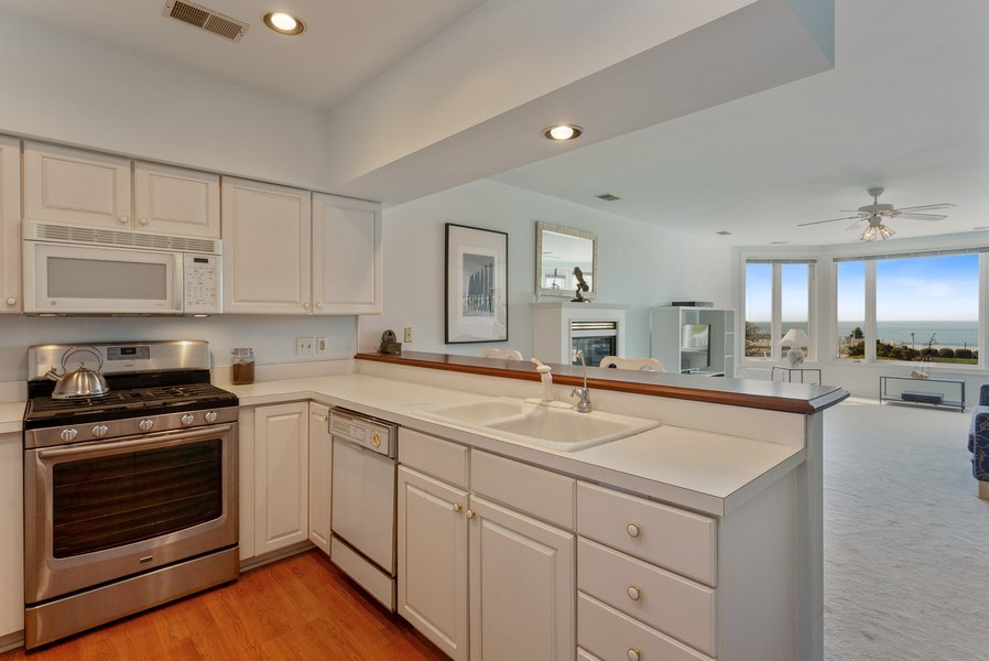 Real Estate Photography - 4144 Ridge Rd #1, Stevensville, MI, 49127 - Kitchen