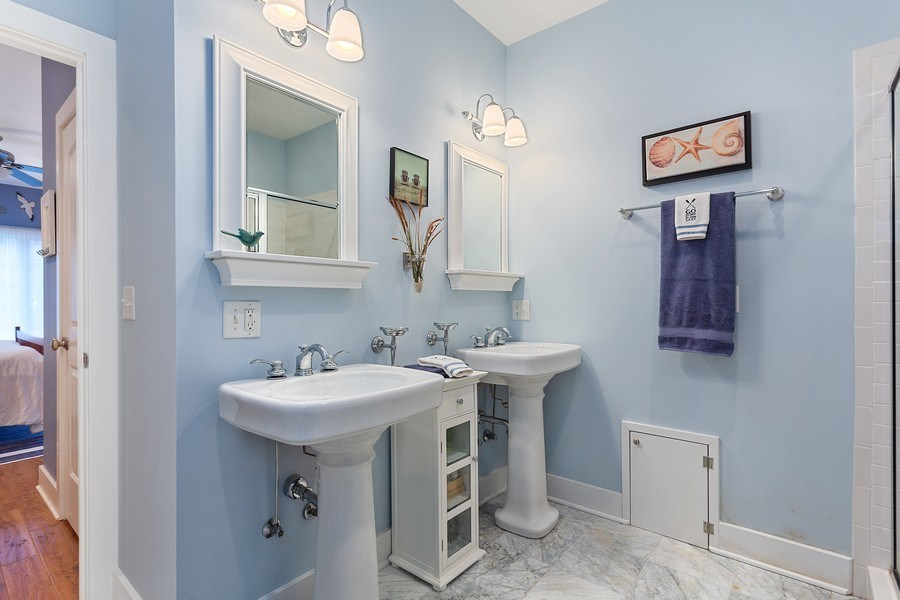 Real Estate Photography - 13863 Peach St, Harbert, MI, 49115 - Master Bathroom