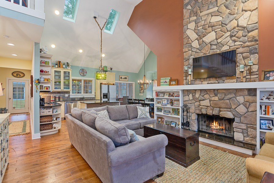 Real Estate Photography - 13863 Peach St, Harbert, MI, 49115 - Living Room