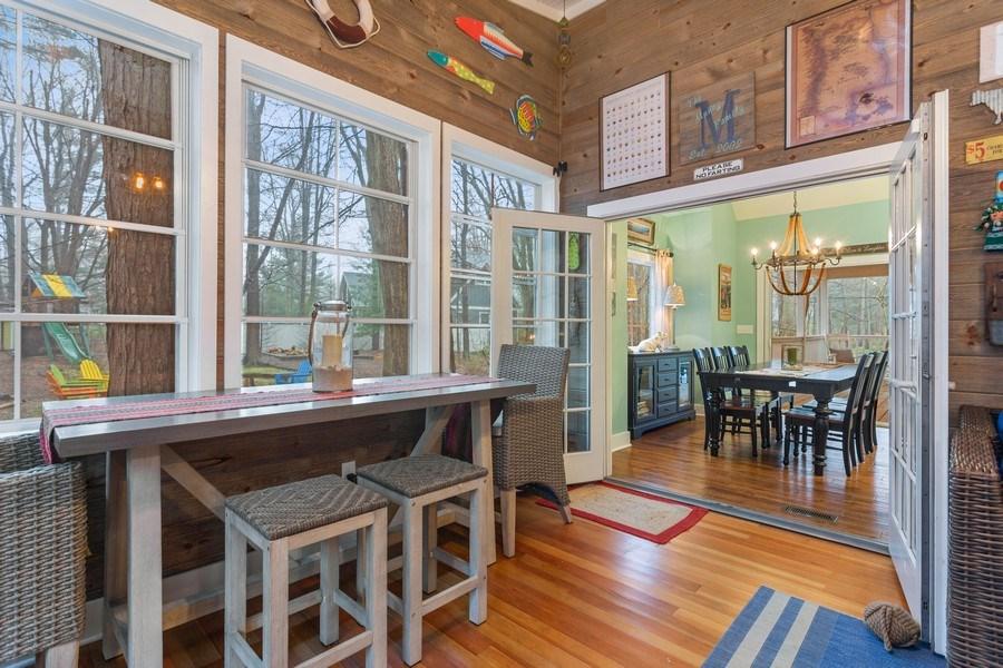 Real Estate Photography - 13863 Peach St, Harbert, MI, 49115 - Sunroom