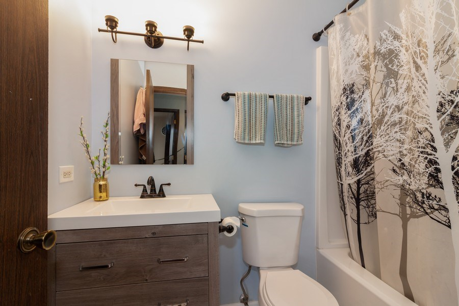 Real Estate Photography - 2s771 Winchester Circle East, #4, Warrenville, IL, 60555 - Bathroom