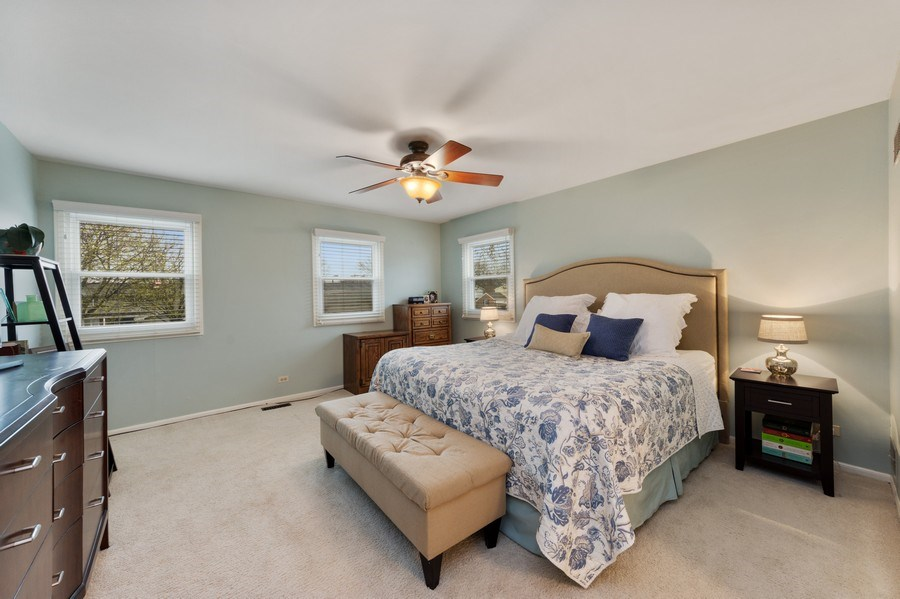 Real Estate Photography - 610 E Independence, Arlington Heights, IL, 60005 - Master Bedroom