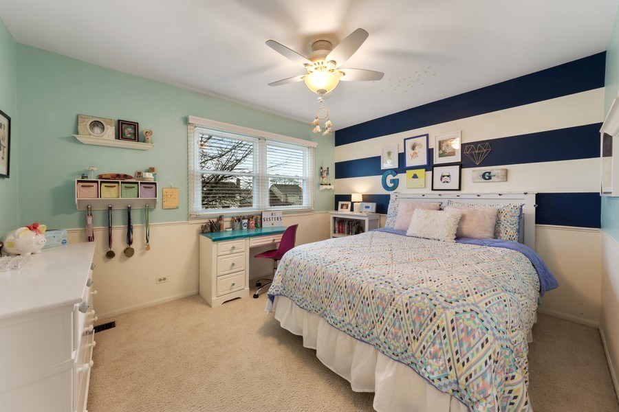 Real Estate Photography - 610 E Independence, Arlington Heights, IL, 60005 - 2nd Bedroom