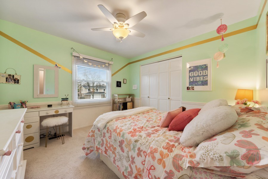 Real Estate Photography - 610 E Independence, Arlington Heights, IL, 60005 - 4th Bedroom