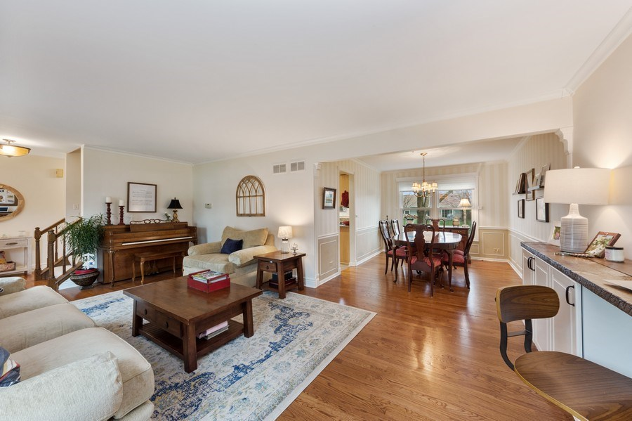 Real Estate Photography - 610 E Independence, Arlington Heights, IL, 60005 - Living Room / Dining Room