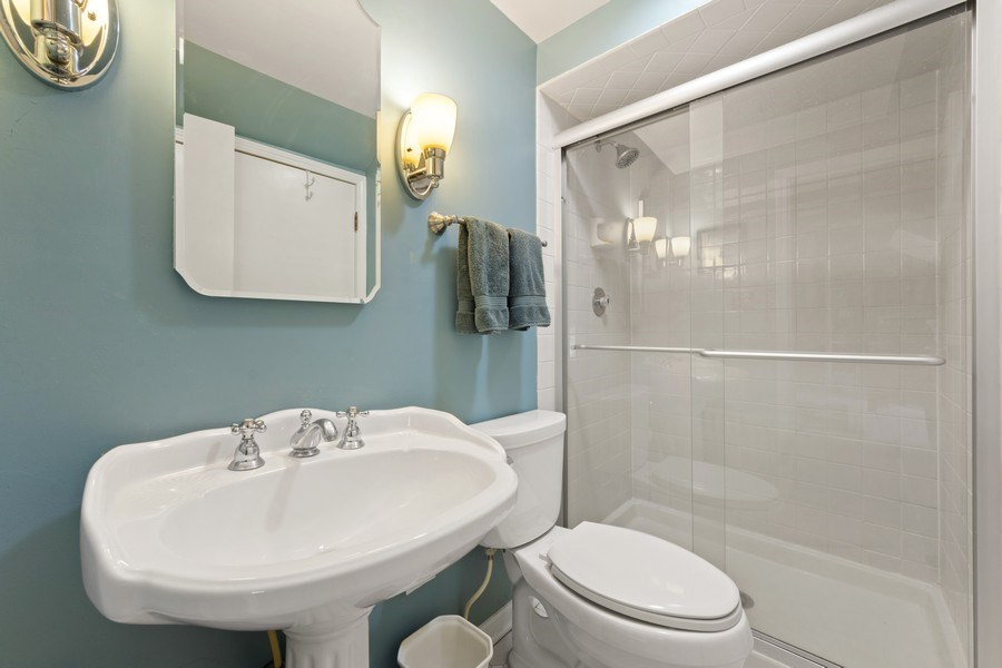 Real Estate Photography - 1105 W Campbell, Arlington Heights, IL, 60004 - Master Bathroom