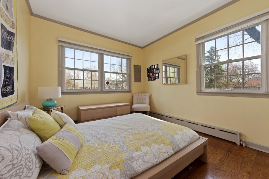 Real Estate Photography - 1105 W Campbell, Arlington Heights, IL, 60004 - 3rd Bedroom
