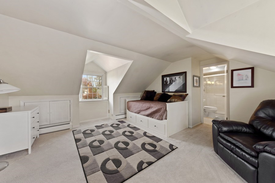 Real Estate Photography - 1105 W Campbell, Arlington Heights, IL, 60004 - Master Bedroom