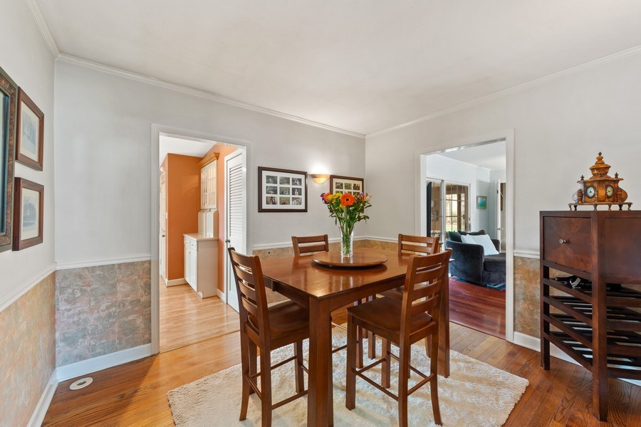 Real Estate Photography - 1105 W Campbell, Arlington Heights, IL, 60004 - Dining Room