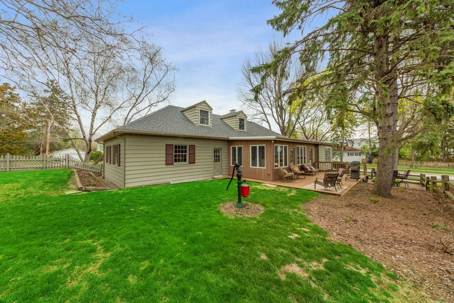Real Estate Photography - 1105 W Campbell, Arlington Heights, IL, 60004 - Rear View