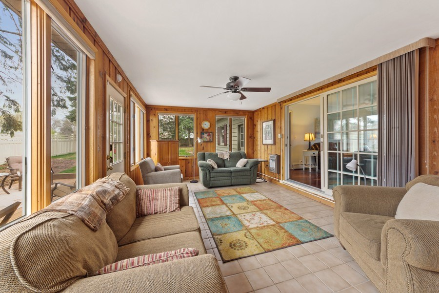 Real Estate Photography - 1105 W Campbell, Arlington Heights, IL, 60004 - Sunroom