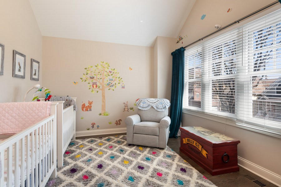 Real Estate Photography - 3336 N Claremont Ave, Chicago, IL, 60618 - 2nd Bedroom