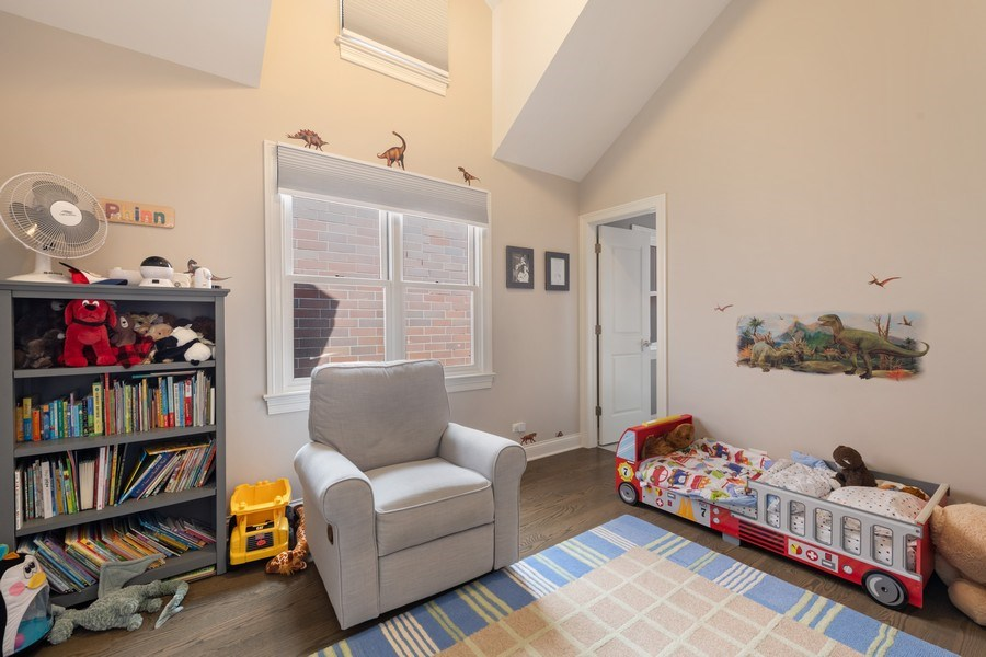 Real Estate Photography - 3336 N Claremont Ave, Chicago, IL, 60618 - 3rd Bedroom