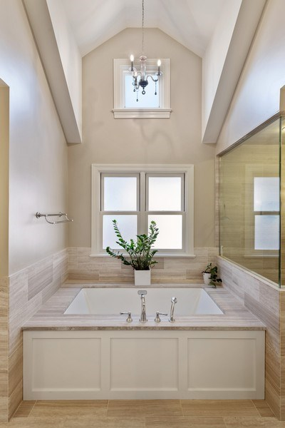 Real Estate Photography - 3336 N Claremont Ave, Chicago, IL, 60618 - Master Bathroom