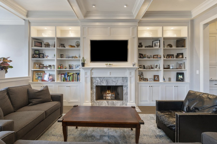 Real Estate Photography - 3336 N Claremont Ave, Chicago, IL, 60618 - Family Room