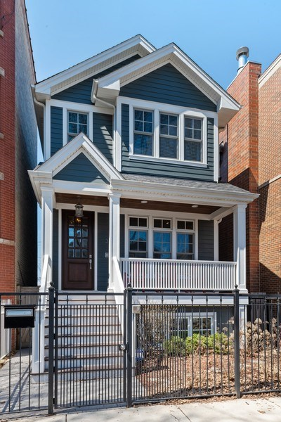 Real Estate Photography - 3336 N Claremont Ave, Chicago, IL, 60618 - Front View