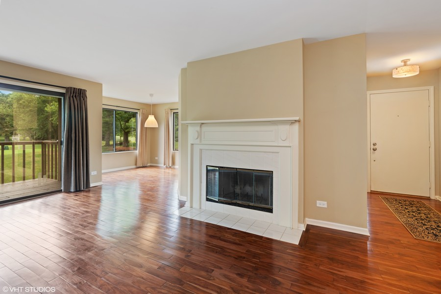 Real Estate Photography - 55 Waterview ct., Lake Barrington, IL, 60010 - Foyer, Living & Dining