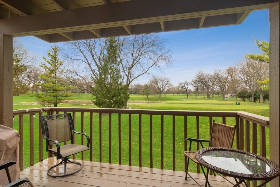 Real Estate Photography - 55 Waterview ct., Lake Barrington, IL, 60010 - Balcony