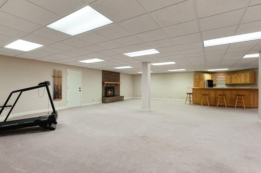 Real Estate Photography - 209 Northampton Lane, Lincolnshire, IL, 60069 - Recreational Room