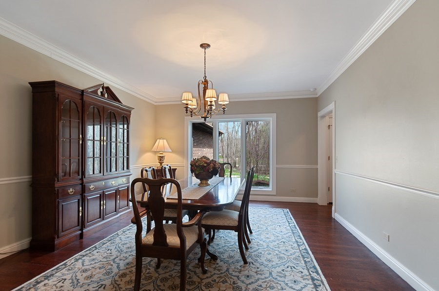 Real Estate Photography - 209 Northampton Lane, Lincolnshire, IL, 60069 - Dining Room