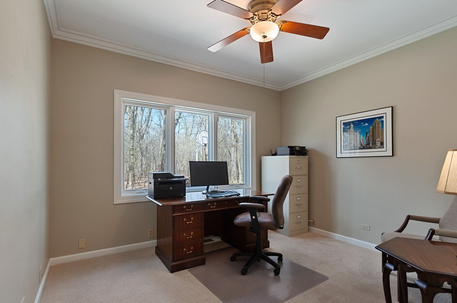 Real Estate Photography - 209 Northampton Lane, Lincolnshire, IL, 60069 - Office